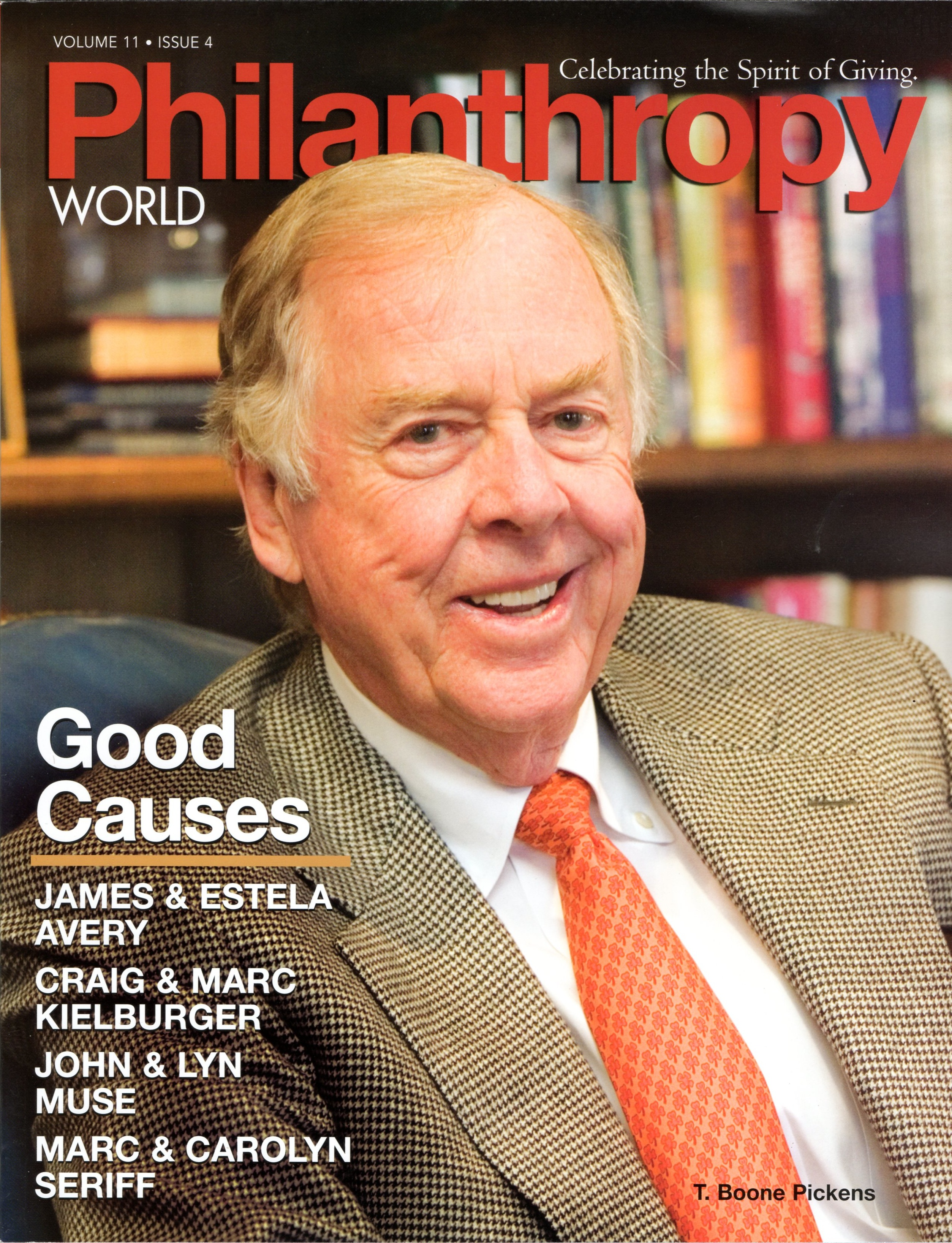 Philanthropy World 2008 cover